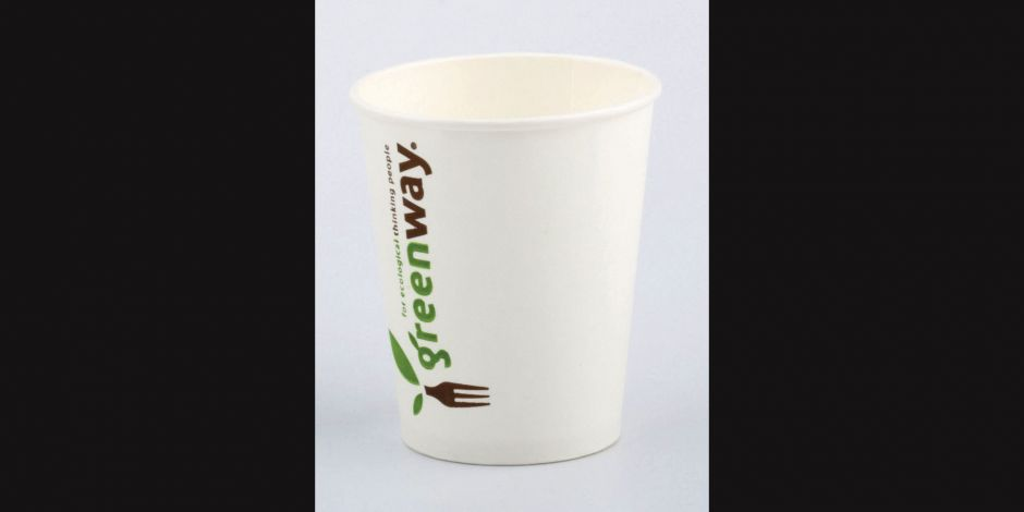"Die Coffee to go-Becher ""the green way"" von Lorentzen & Sievers sind biologisch abbaubar."
